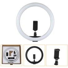 "Tycipy 30 センチメートル 12 ""160 個調光対応 5500 18K LED リングライト 12 ワット 2700 K 5500 K USB 10 ワットの写真撮影の写真スタジオランプ Led リングライト"
