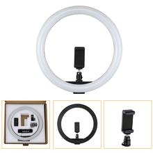 """Tycipy 30 centimetri 12 """"160 pcs Dimmable 5500K LED Anello di Luce 12W 2700 K 5500 K USB 10W Fotografia Photo Studio Lampada Anello di Luce A Led"""