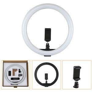 "Image 1 - Tycipy 30cm 12"" 160pcs Dimmable 5500K LED Ring Light 12W 2700K 5500K USB 10W Photography Photo Studio Lamp Led Ring Light"