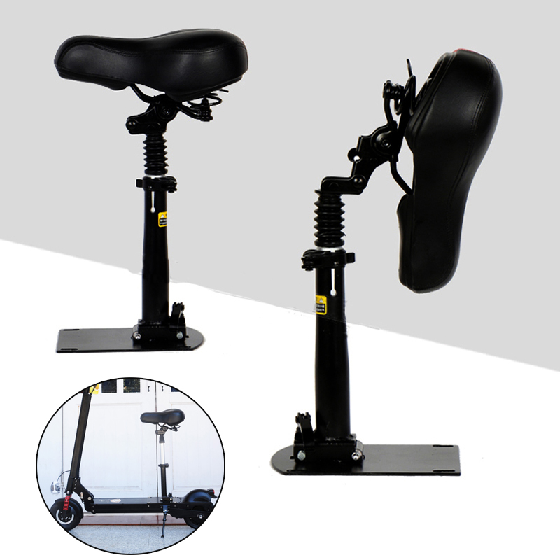 Foldable Height Adjustable Saddle For Xiaomi M365 Electric Scooter Skateboard Cushion Chair Seat Saddle Replacement AccessoriesFoldable Height Adjustable Saddle For Xiaomi M365 Electric Scooter Skateboard Cushion Chair Seat Saddle Replacement Accessories