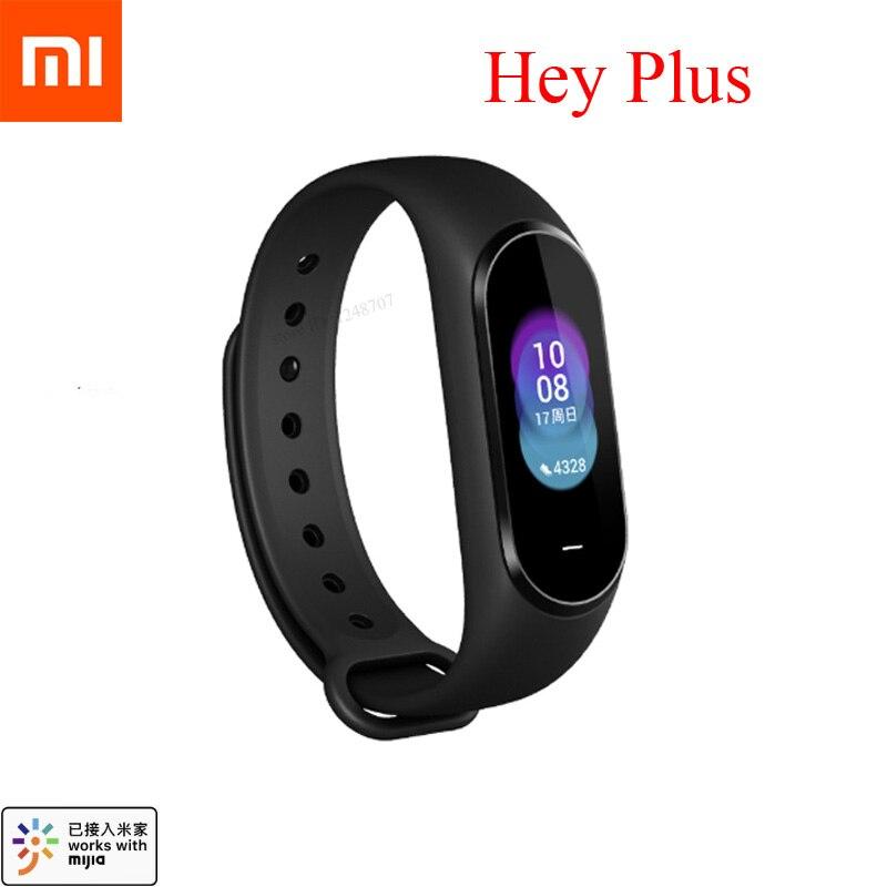 International Xiaomi Hey Plus Smartband 0 95 Inch AMOLED Color Screen Builtin Multifunction NFC Heart