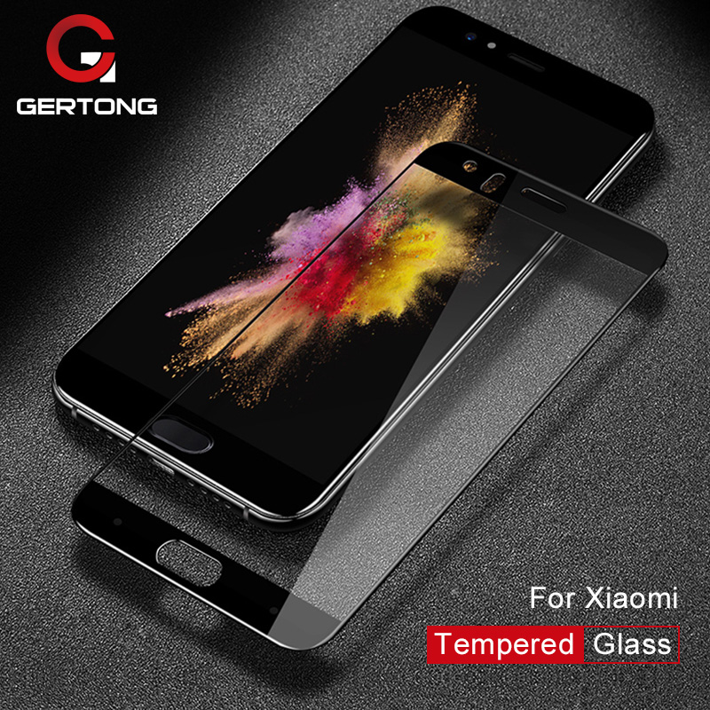 GerTong Screen Protector Glass For Xiaomi Redmi Note 4X 4 Pro 4A 3S 3X Mi A1 5 S 5S Mi5X Mi5S Mi6 Mi5 Tempered Glass Cover Film