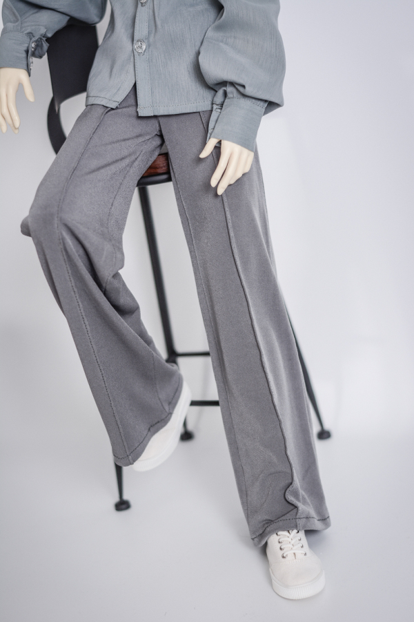 BJD Blue Pants Trousers Clothing For Male SD17 70cm Uncle Doll DK DZ AOD