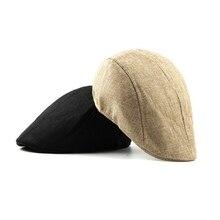 Полиэфирная Кепка для бега, женская, мужская, простая, британский стиль, регулируемая, дышащая, встроенный Эластичный Напульсник, шапка для рыбалки на открытом воздухе