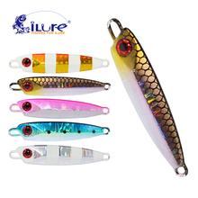iLure Fishing Metal Jigging Spoon 27g 67mm Artificial Fishing Bait Jig Boat Super Hard Lure Lead Fishing Tackle Bass Lures Pesca