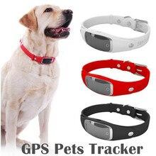 Умный ошейник для собак, водостойкий gps ошейник, Wi-Fi gps LBS, Активный монитор