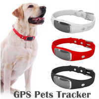 Smart Dog Collar Pet Tracker Waterproof Gps Collar WIFI GPS LBS Location Active Monitor