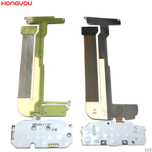 Main Keypad LCD Screen Connector Flex Cable For Nokia N95 8GB / 2GB No camera for nokia n95 not n95 8gb n96 original phone lcd screen digitizer display free tools free shipping