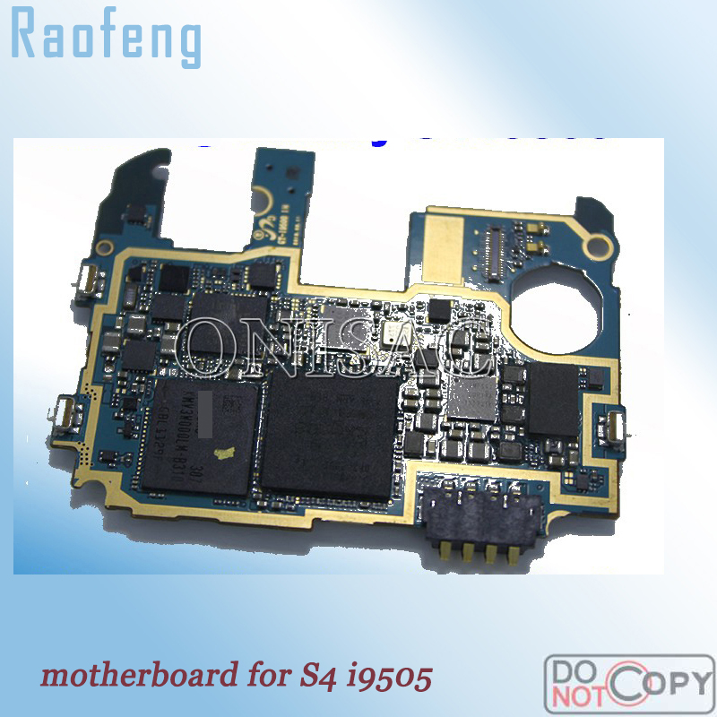 Raofeng Good work Europe Version For Samsung galaxy S4 i9505 motherboard Unlocked