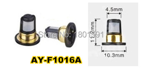 FREE SHIPPING 500pieces Prefect quality fuel injector filter used for NISSAN TIIDA 11 2 10 3
