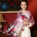 2017 новая коллекция весна 100% шелковый шарф женщины шелковые шарфы леди шелковый платок