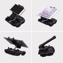 SUNNYLIFE DJI Mavic Pro Foldable Phone Smartphone Tablet Stand Holder Mount Clip Stretching Bracket for Spark Remote Control