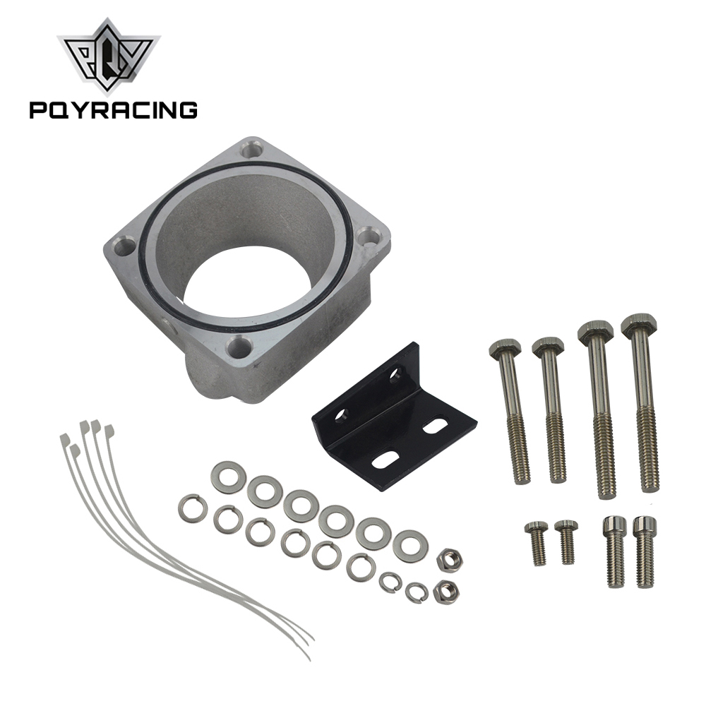 PQY - FOR New R33 <font><b>RB25DET</b></font> Skyline Front Facing <font><b>Intake</b></font> <font><b>Manifold</b></font> Original Throttle Body Adaptor Kit Throttle Body Plate PQY-TBS61 image