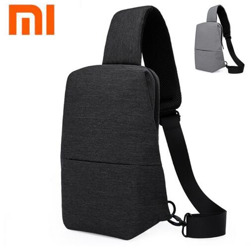 Original Xiaomi Portable Backpack Urban Leisure Chest Pack Men Women Small Size Shoulder Unisex Rucksack For Camera DVD Phone