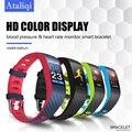 Ataliqi P4 Smart Armbänder Fitness armband Passometer Uhr blutdruck Herz Rate monitor Smartband für Xiaomi Android IOS|Intelligente Armbänder|   -