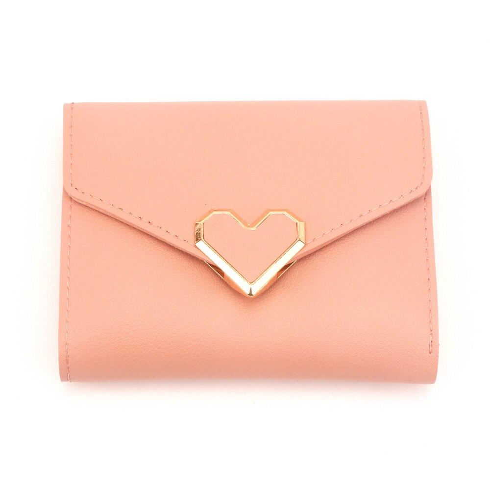 Женские кошельки кошелек в форме сердца и маленький дамский