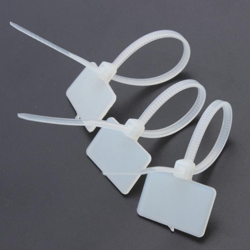 250pcs Zip Ties Write Wire Power Cable Label Mark Tag