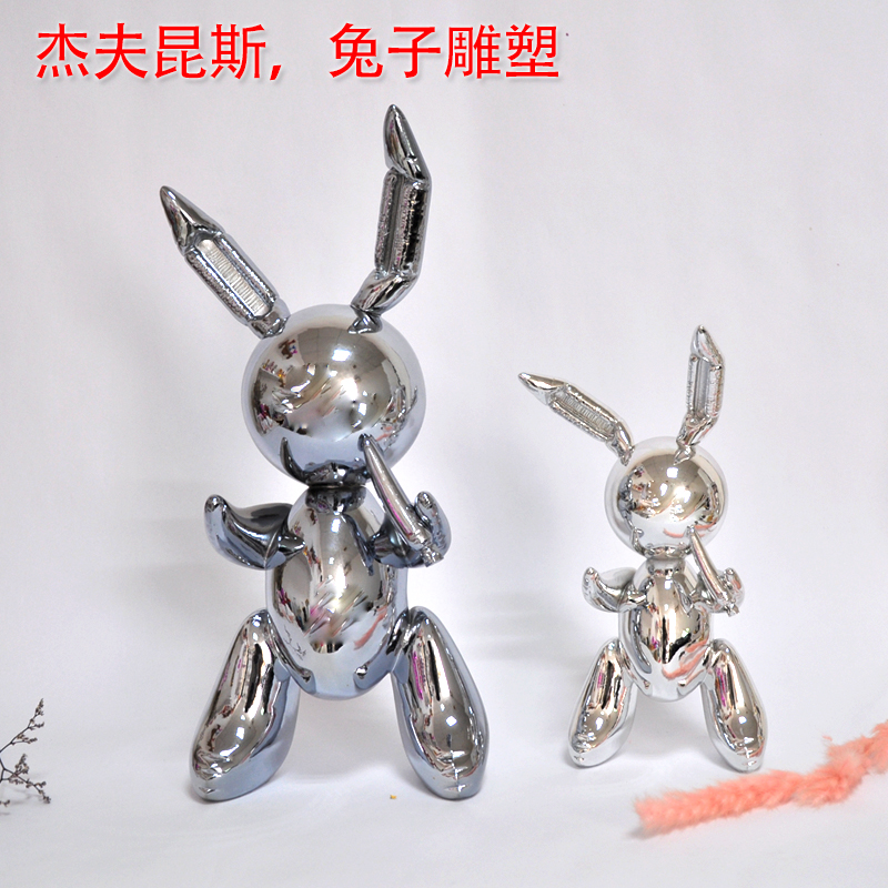 Clearance SaleStatue Craft Balloon Garden-Decoration Rabbit-Sculpture Art Creative And