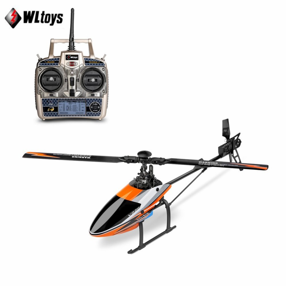 WLtoys V950 2.4G 6CH 3D/6G System switched freely High efficiency Brushless Motor RTF RC Helicopter Stronger Wind Resistance tz