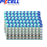 250PCS/50card PKCELL CR2430 3v Button Batteries DL2430 BR2430 KL2430 Cell Coin Lithium Battery 3V CR 2430 For Watch Electroni