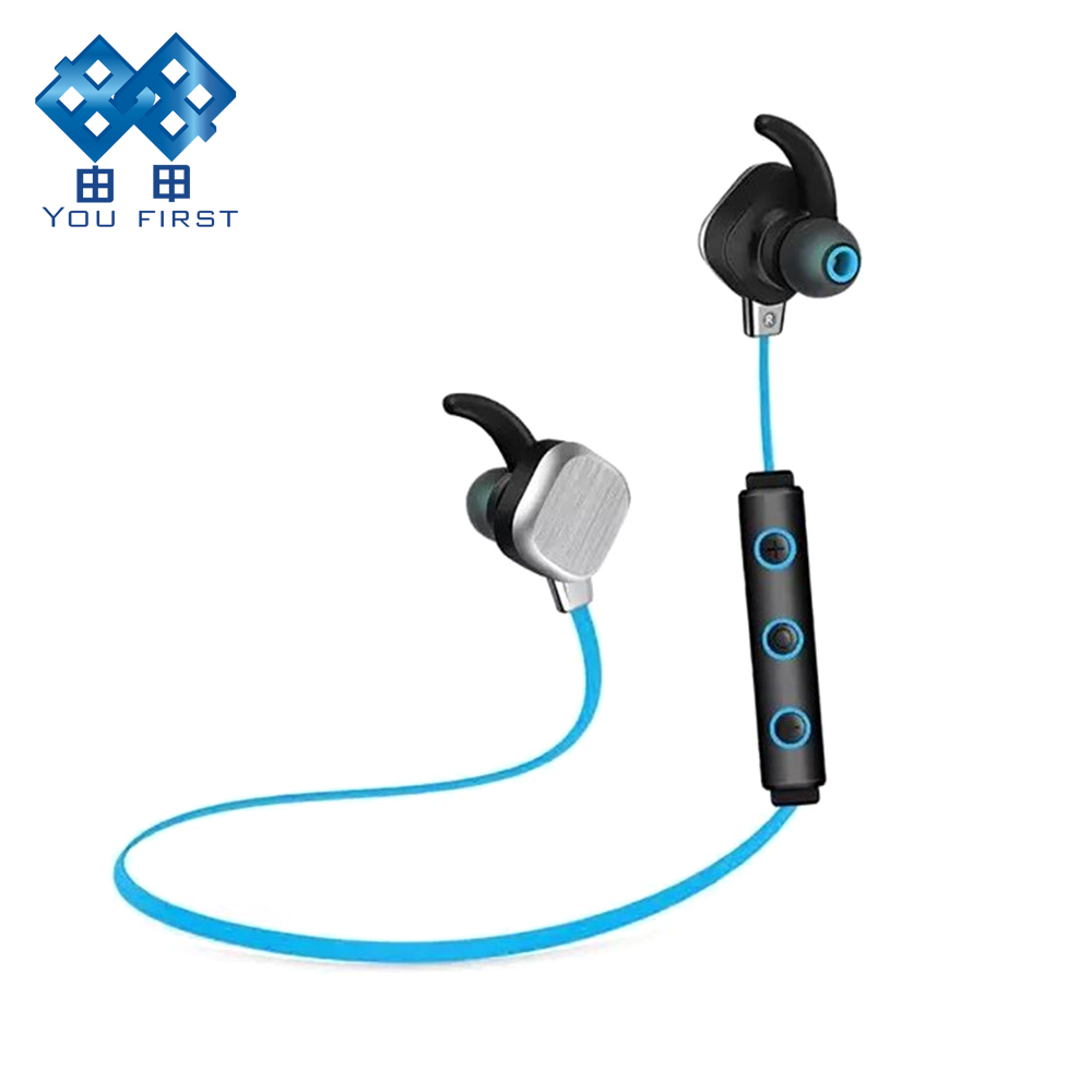 Earphone Bluetooth Wireless In Ear Stereo Headset Sports Earphones Running Hands Free With Microphone For Mobile Phone iPhone цена 2016