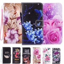 Luxury Leather Flip Cover  For Samsung Galaxy A3 A5 2017 A520 J3 2016 J5 S3 S4 S5 S6 S7 Edge S8 Plus Case Phone Protector Coque