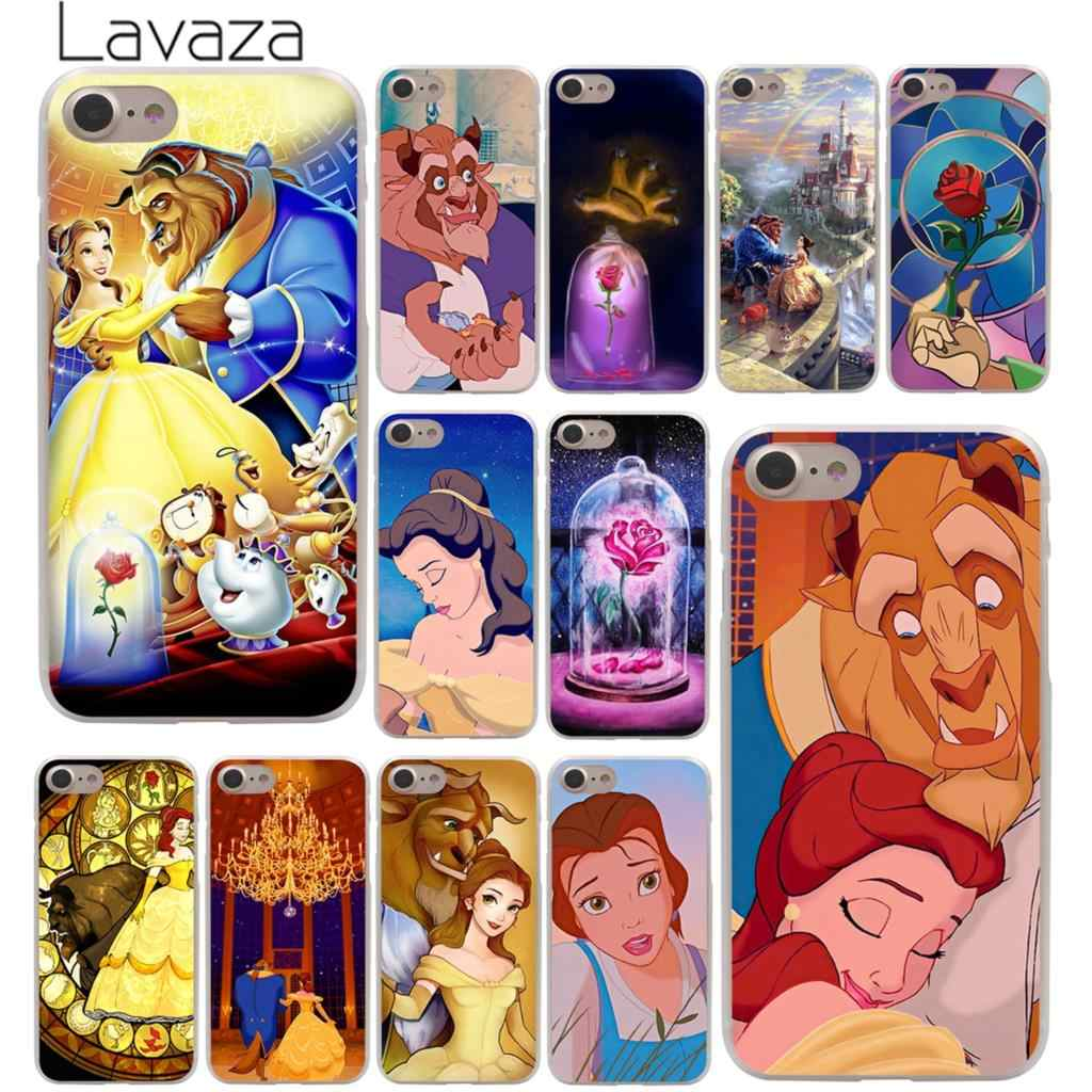 Lavaza Beauty และ Beast สำหรับ iPhone XR X XS 11 Pro Max 10 7 8 6 6S 5 5S SE 4 4S