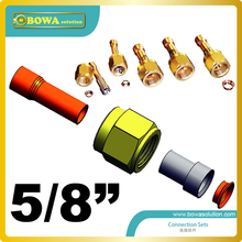 5/8″ CONNECTION SETS work as adaptor can be used with advantage for components with flare connections on pressure controls