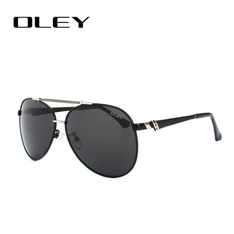OLEY Hochwertige Polarisierte Sonnenbrille Männer Markendesigner - Bekleidungszubehör - Foto 3
