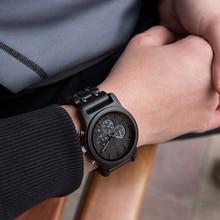 DODO DEER мужские хронографы аналоговые кварцевые часы с Дата светящаяся стрелки водонепроницаемый металлический дизайн ремешок браслет для мужчин B19