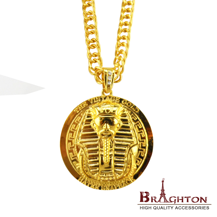 jewelry products necklaces pendant nefertiti image egyptian collections necklace lot tone gold ankh product