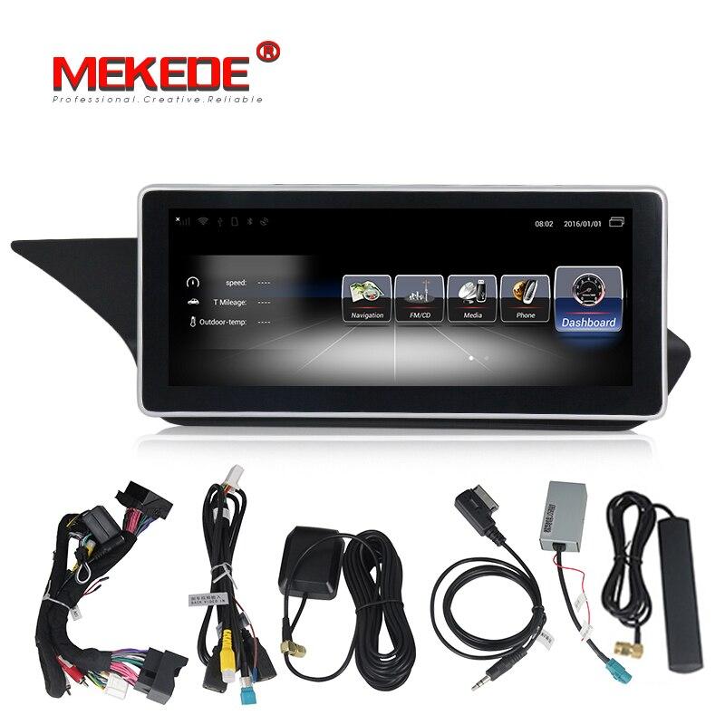 Lecteur multimédia de Navigation GPS de voiture système Android 10.25 pouces pour Mercedes Benz classe E W212 E200 E230 E260 E300 S212 2009-2015