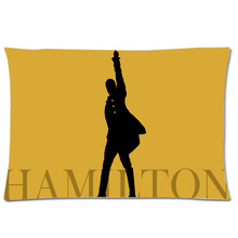Hamilton Broadway Musical Two Side Print Pillow Case Rectangle Pillowcase Polyester Pillow Slip Custom Pillow Cover 50x75cm