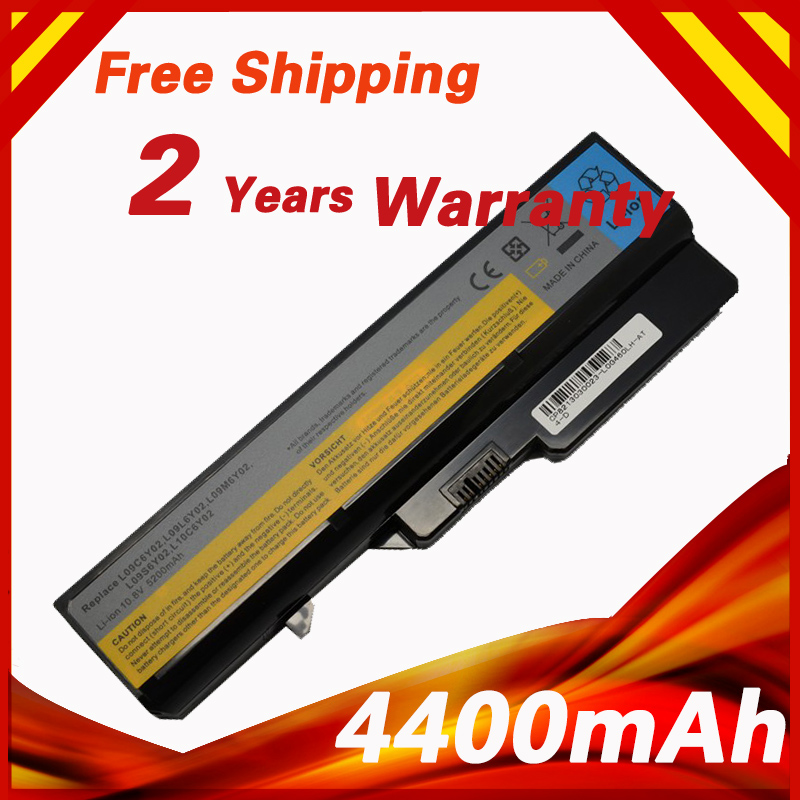 4400 mAh 6 Cells Battery G460 For Lenovo G470 V470 L09C6Y02 L09L6Y02 L09M6Y02 L09N6Y02