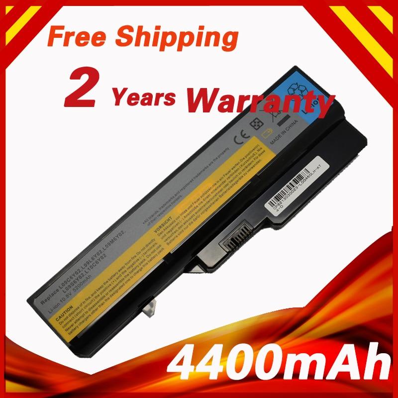 4400mAh 6 Cells Battery G460 For Lenovo G470 V470 L09C6Y02 L09L6Y02 L09M6Y02 L09N6Y02 L09S6Y02 LO9L6Y02 LO9S6Y02 B570E
