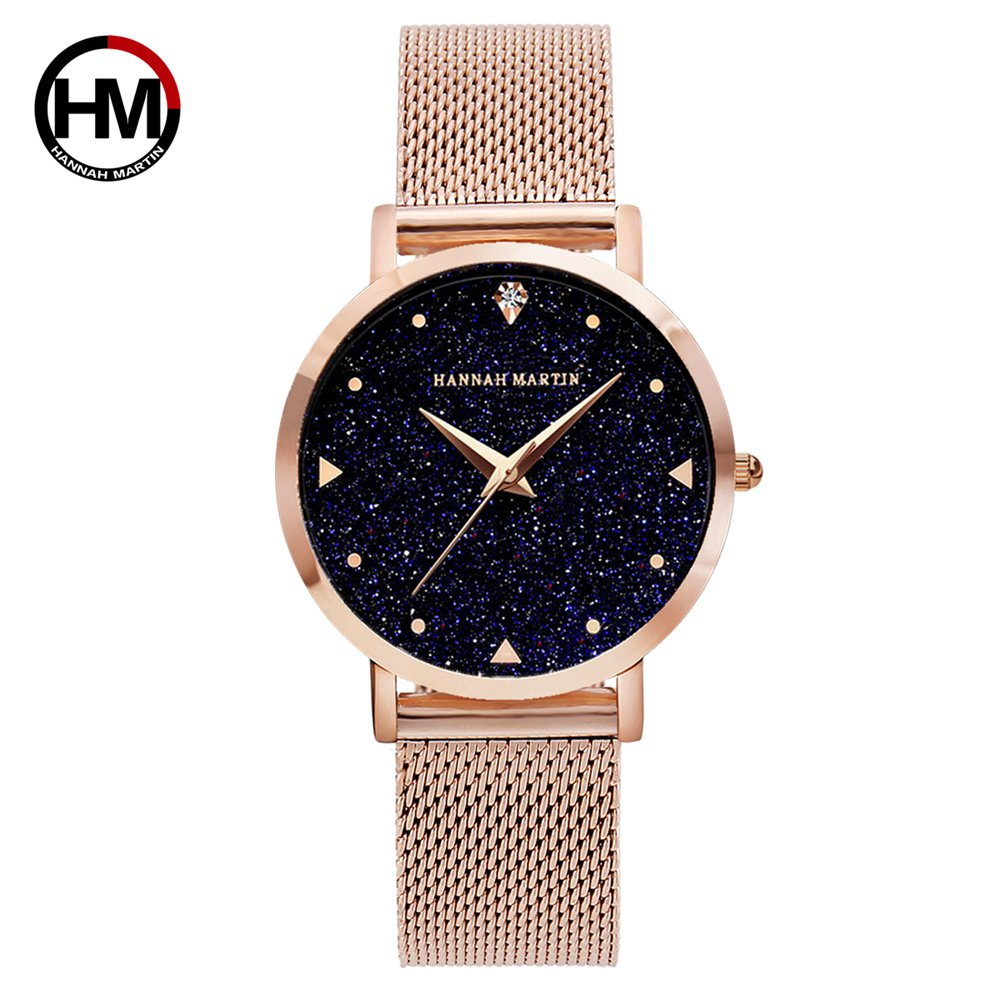 Japan Movement Night Flash Starry Sky Dial Stainless Steel Waterproof Creative Women Watches Diamond Elegant Ladies Quartz-WatchJapan Movement Night Flash Starry Sky Dial Stainless Steel Waterproof Creative Women Watches Diamond Elegant Ladies Quartz-Watch