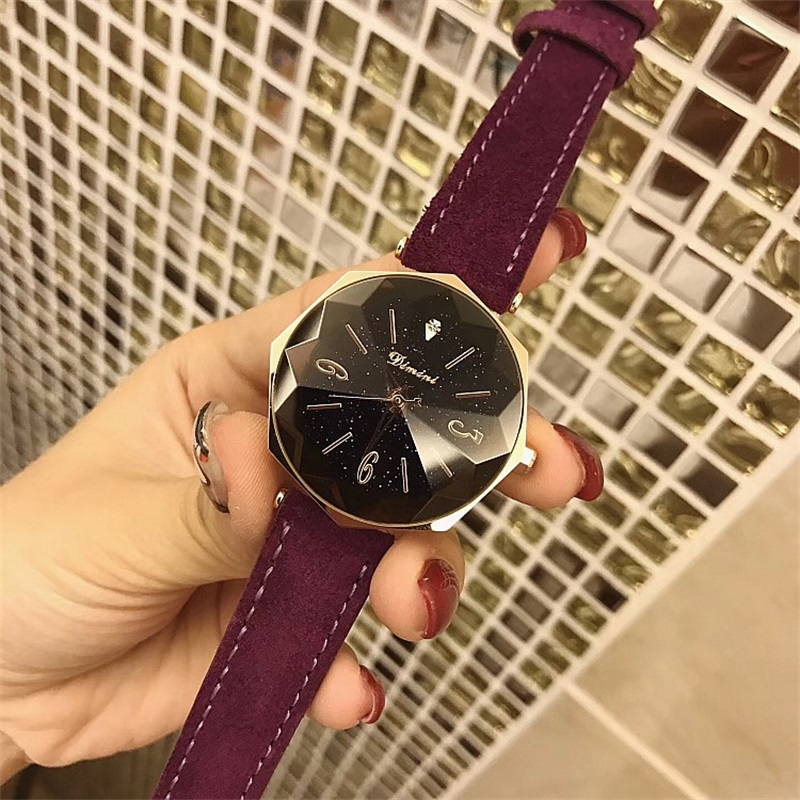 New Watch Women Exquisite Top Luxury Diamond Quartz Ladies Watch Fashion Leather Wristwatch Women watches saat relogio feminino new top brand guou women watches luxury rhinestone ladies quartz watch casual fashion leather strap wristwatch relogio feminino