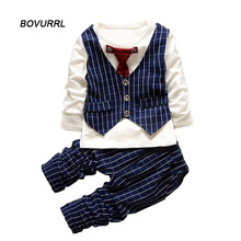 Baby Boys Clothes Autumn Clothing Sets Gentleman Children boy clothing set