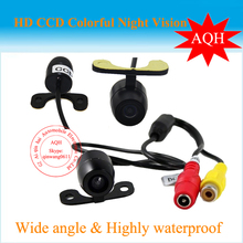 New full HD sony  CCD  universal car Parking assistance Rear view front view parking camera stainless metal camera waterproof