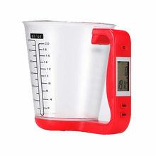 Neue Digital Tasse Skala Elektronische Messbecher Mit LCD Display Flüssigkeit Messbecher Kochen Krug Waagen Küche Backenwerkzeuge Heißer