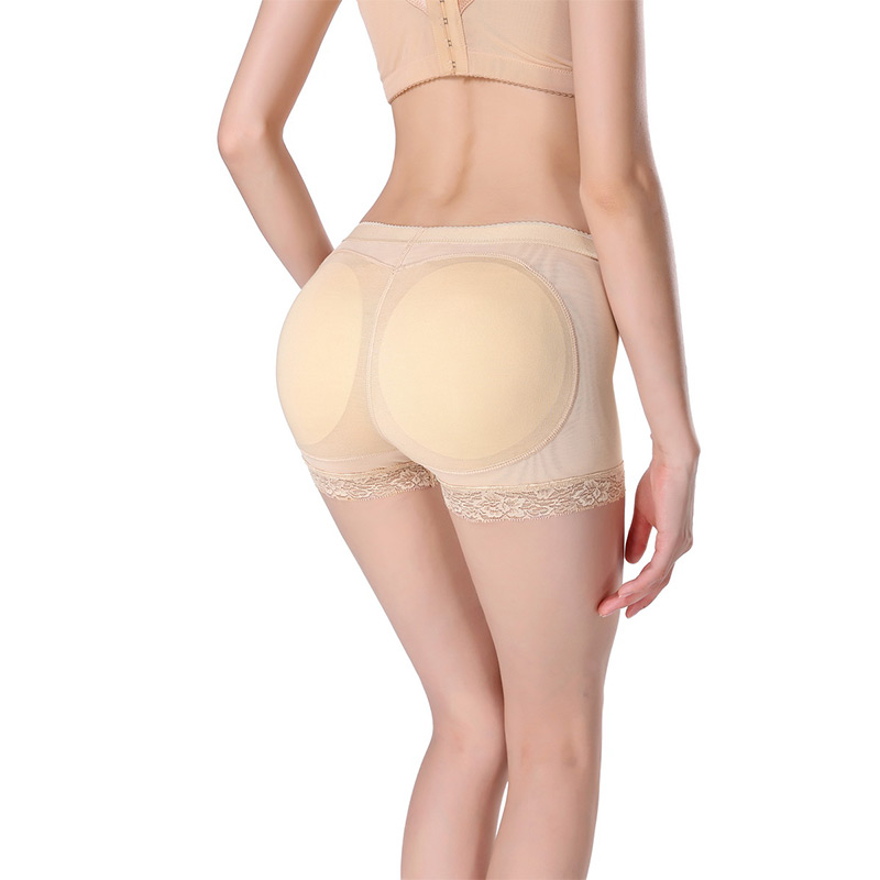 Women Shaper Pants Sexy Boyshort Panties Woman Fake Ass Underwear Push Up Padded Panties Buttock Shaper Butt Lifter Hip Enhancer in women 39 s panties from Underwear amp Sleepwears