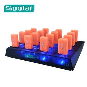 Sipolar Plastic black 16 Port
