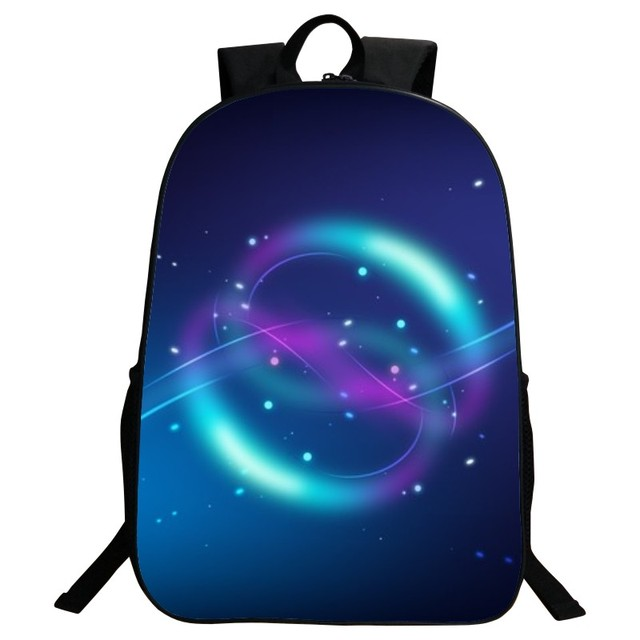Beautiful Popular Fashion Polyester 16-Inch Starry Sky Backpacks for Teenage Boys School Bags for Women Schoolbag for Kids