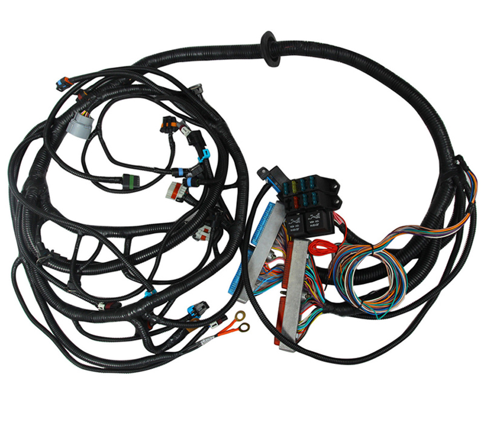 99 03 G Mc Cadil Lac Truck Engine Vortec Standalone Wiring Harness T56 1999 2003 Ls1 With 4l60e Transmission Ev1 Injector Plug