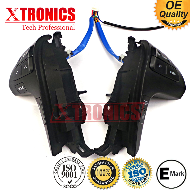 OEM 84250-0E120 Steering Wheel Control Audio Control for Toyota Camry Hilux Highlander Corolla steering wheel audio control switch for toyota camry highlander hilux vigo grand new quality audio buttons