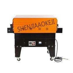 220 V/380 V termiczna kurczy maszyny Jet zmniejszyć maszyna pakująca w folię z folii termokurczliwej zastawa stołowa ciepła kurczyć maszyna 6.5kw