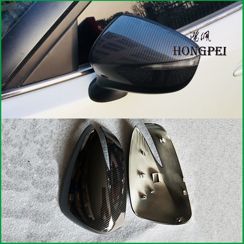 For <font><b>Mazda</b></font> CX-5 <font><b>CX5</b></font> 2015 2016 Rearview Mirror Cover Shell Door Side Wing Mirror Cover Cap Trim Car <font><b>Accessories</b></font> image