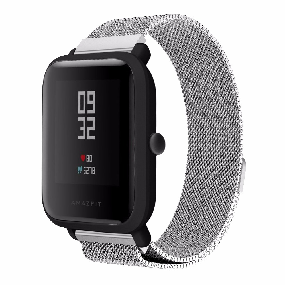 20mm-Milanese-Loop-Magnetic-Stainless-Steel-Watch-Band-for-Xiaomi-Huami-Amazfit-Youth-bit-Smart-Watchband (2)