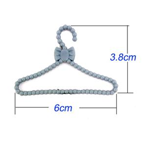 20 Pcs Lot Mini Gray Hangers C