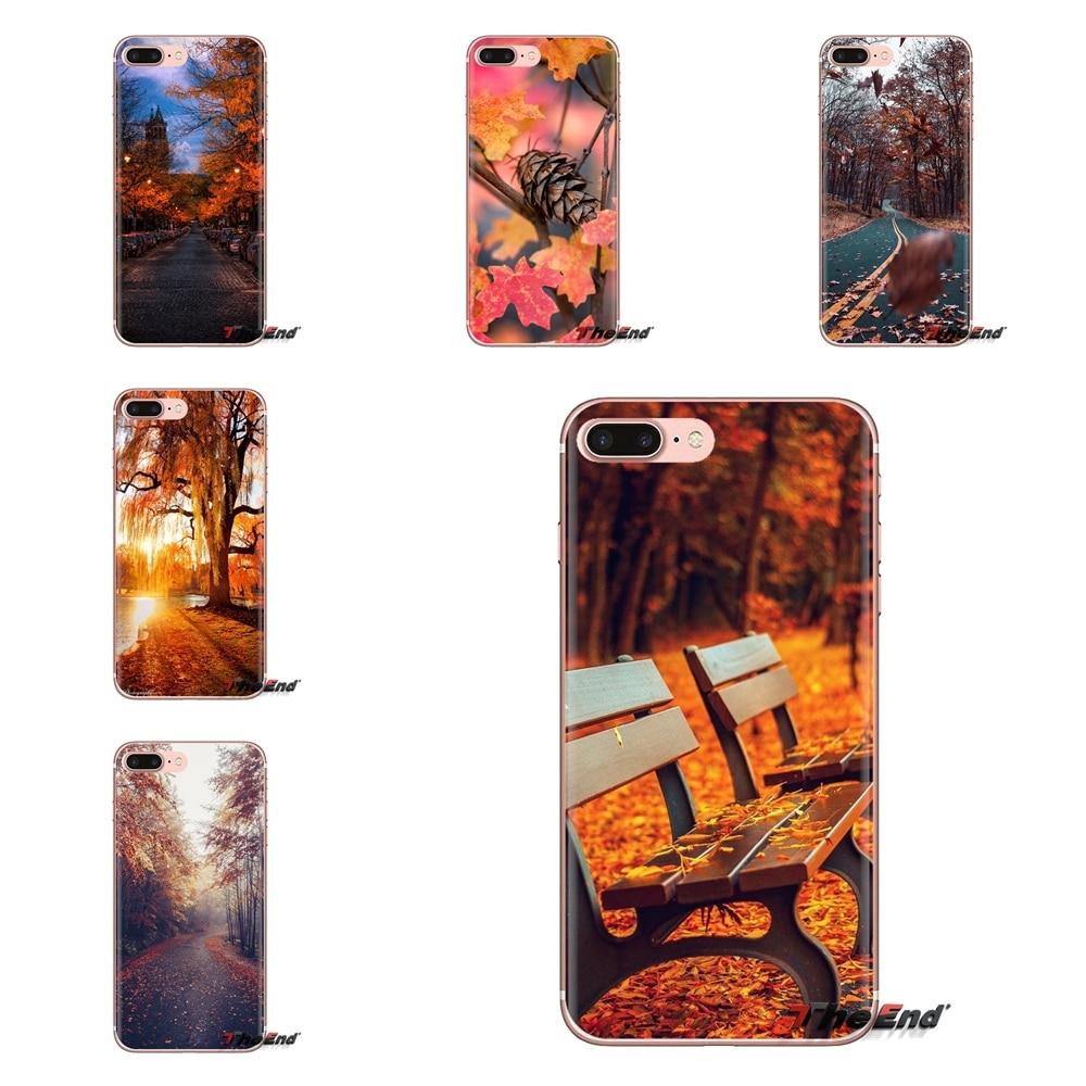 Autumn Lights For Samsung Galaxy J1 J2 J3 J4 J5 J6 J7 J8 Plus 2018 Prime 2015 2016 2017 Transparent Soft Cases Covers